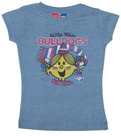 2013 Western Bulldogs Little Miss T-Shirt $29.95 Sizes 2 - 14