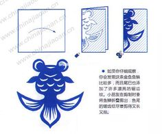 "Chinese Character ""春"" Spring Paper Cutting Patterns, Paper Cutting Templates, Origami Patterns, Festive Crafts, New Year's Crafts, Paper Crafts, Asian Crafts, Chinese New Year Crafts, Kirigami"