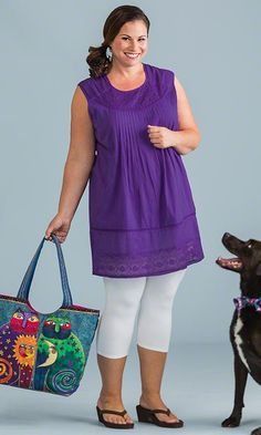 Capitola Tunic / MiB Plus Size Fashion for Women / Spring Fashion  http://www.makingitbig.com/product/5140