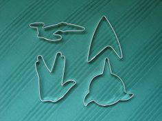 OMG... Star Trek Cookie Cutters!!!!!!