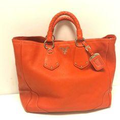 Tip: Prada Tote (Orange)
