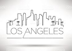 Los Angeles City Line Silhouette Typographic Design Los Angeles City Line Silho . Los Angeles City Line Silhouette Typographic Design Los Angeles City Line Silhouette Typographic Design royal Los Angeles Logo, Los Angeles Skyline, Los Angeles Landscape, City Outline, Skyline Tattoo, La Tattoo, City Drawing, City Sketch, Outline Drawings