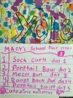 The 5 Stages of a 4th Grade School Project (from Mom's perspective ... funny stuff)