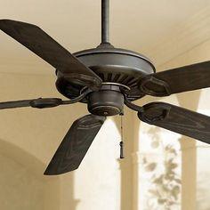 "54"" Minka Aire Iron Sundowner ENERGY STAR Ceiling Fan"