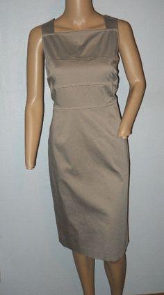 WORTH WOMEN S SHEATH DRESS SIZE 8 TAN EUC Knee Length Dresses 5c228921b