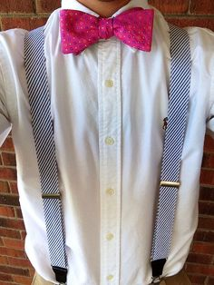 themartinbros:  Seersucker suspenders were a must for today.  Happy Easter to everyone!  -Jonathan
