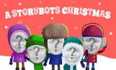 Storybots Christmas app lets young kids can make a music video starring themselves
