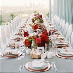 The view's alright... Image by @_mikeradford  produced by @parkandgrove tabletop rentals @theark_  other rentals @blueprintstudiosevents on @smpliving this week:) by flowerwild