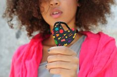 Ethno LOVE necklace Heart-of-Colours by KOKOworld on Etsy #jewellery #ethno #africa #necklace