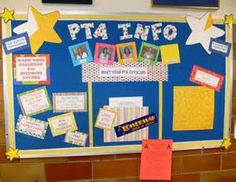 Bulletin board for PTA Membership Drive. Parent Teacher Association, Parents Association, Pta School, School Fundraisers, School Ideas, School Stuff, School Events, School Classroom, Primary School