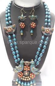 Terracotta Jewelry Terracotta Jewellery Designs, Terracota Jewellery, Necklace Set, Beaded Necklace, Polymer Clay Necklace, Simple Jewelry, Clay Crafts, Clay Jewelry, Indian Jewelry