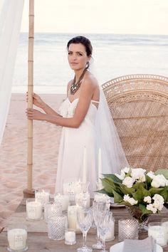 28.white beach wedding