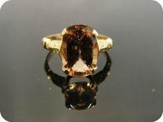 Vintage Engagement Ring - Etsy:  MSJewelers