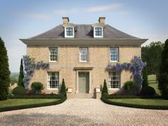 For this new-build residential project in Gloucestershire, Richmond Bell Architects were approached by Sherbourne Developments and commissioned to design a large country house, along with all landscaping works. The neo-Georgian project features exposed oa