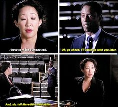 Grey's Anatomy - oh snap, Burke you don't even know. Shut up! Jerk.