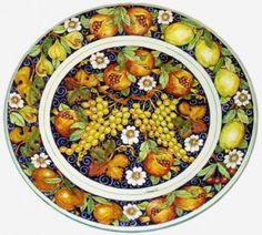 pintura en ceramica italiana - Buscar con Google
