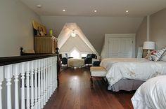 Interior Home Renovation, Attic Bedroom Transformation