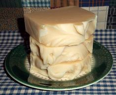 Suds & Stitches: Goats Milk and Honey Soap