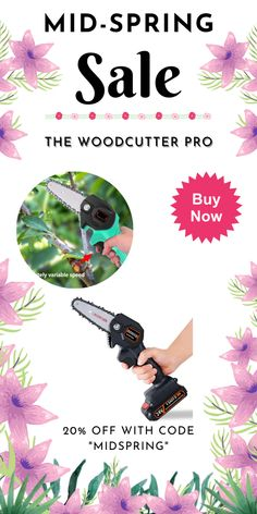 Made of fine quality material, practical, easy to operate and use, wide application range, has a long service life. Mini Chainsaw, Electric Chainsaw, Fast And Slow, Wood Cutting, Pure Copper, Spring Sale, Tech Gadgets, Range, Pure Products