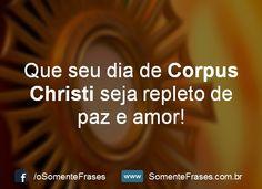 Mensagens de Dia de Corpus Christi