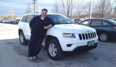 Albert's new 2015 JEEP GRAND CHEROKEE! Congratulations and best wishes from North Country Nissan and LOUIS YOUNG.