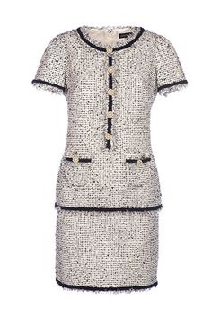 Chanel Dress for sale Vintage Outfits, Classy Outfits, Vintage Fashion, Winter Mode Outfits, Winter Fashion Outfits, Chanel Style Jacket, Chanel Dress, Tweed Dress, Vintage Mode