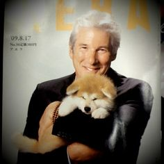 Richard Gere stars in Hachi, a film for those who love dogs and great storytelling. The movie hit DVD March and we have an exclusive online premiere -- the first six minutes -- of Gere's latest charm-fest. Animals Of The World, Animals And Pets, Cute Animals, Richard Gere, Dog Quotes, Animal Quotes, My Best Friend, Best Friends, A Dog's Tale