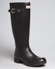 Hunter Rain Boots - Original Tour Packable