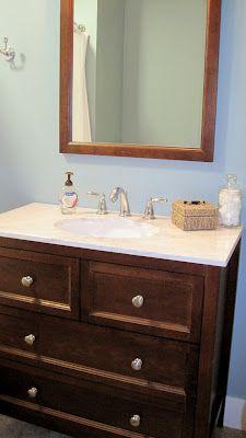 dresser sink vanity