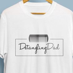 Another logo design for Detangling Dad. We did multiple coloured versions of this. Simple yet effective. #launch #creative #logo #design #CreativeContent #Agency #Launch #webdesign #graphicdesign #Rebranding #Digital #Print #UX #Design #Margate