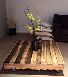 Table Made Of Pallets 720x1091