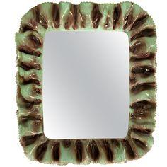 Ceramic mirror Fausto Melotti
