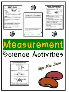 Fun and simple science activities and experiments that will enrich your measurement unit.------------------------------------------------------------------------------------------*THIS PRODUCT INCLUDES: -Bean Capacity Activity-Can and Container Capacity Science Experiment-Change the Mass Science Experiment-Change the Object Science Experiment-How Many Grams?