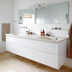 Toscana feeling, badeværelses inspiration, bathroom inspiration, badeværelses indretning Toscana, Double Vanity, Cases, Feelings, Bathroom, Washroom, Full Bath, Bath, Bathrooms