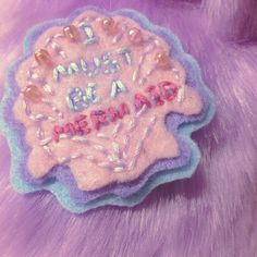 I must be a mermaid! #brooch