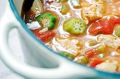 Healthy Diabetic Recipe for Low-carb Chicken Gumbo