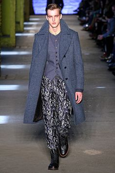 printed pants... Rag & Bone.. Fall 2012 Menswear