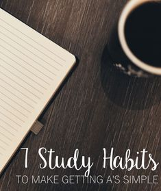 Here are some simple ways to change up your studying habits and get better grades! http://www.thediaryofatallgirl.com/7-study-habits-to-make-getting-as-a-breeze/ college student tips #college #student