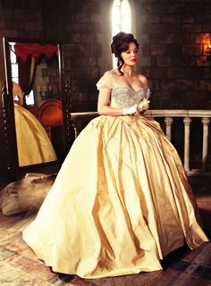 "Young Cora - anyone see the similarity between Belle? #MindBlown ... ""when you can see the future..."""