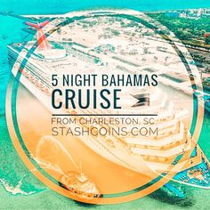 5 Night Bahamas Cruise from Charleston, SC Bahamas Cruise, Charleston Sc, Vacation, Night, Vacations, Holidays Music, Holiday