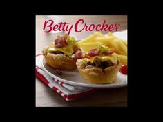 Muffin-Tin Cheeseburgers recipe from Betty Crocker