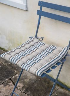 Soft and easy to care for, these are absolutely perfect for garden chairs, especially our Bistro Chairs