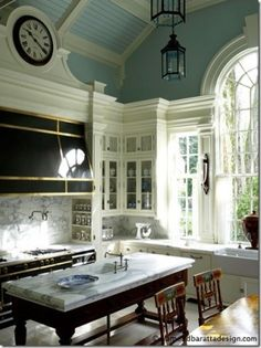 Nice kitchen, but I love the ceiling.