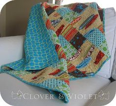 The Take Along Quilt | FaveQuilts.com