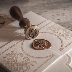 Beautiful stationery by Empress