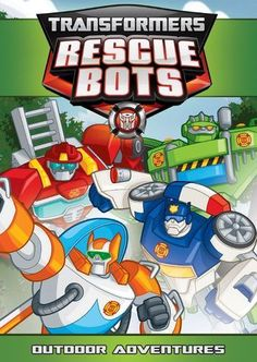 """DVD """"Transformers Rescue Bots: Jurassic Adventure"""" - Mom and Hasbro Studios, Rescue Bots, New Movies, Family Movies, Cool Things To Buy, Superhero, Iron Man Wallpaper, Souvenirs"""