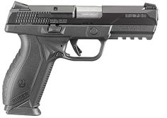 New pistol from Ruger. The Ruger American Pistol. Available in 9mm and 45 ACP.