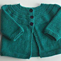 Baby cardigan knitting pattern by rachel atkinson knitting patterns lovekni Baby Cardigan Knitting Pattern Free, Baby Boy Knitting Patterns, Baby Sweater Patterns, Knitted Baby Cardigan, Knit Baby Sweaters, Cardigan Pattern, Knitting For Kids, Baby Patterns, Knitting Projects