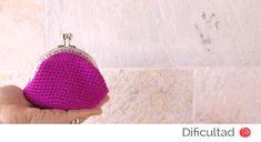 Monedero lana de colores