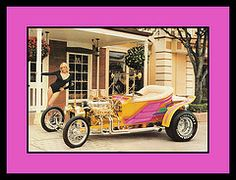 """""""Fantasy Ford"""" Show Car, 1984 (Cosmo's """"ART"""" Gallery) Tags: ford babe 1984 1923 customcar showcar vision:text=0703 vision:outdoor=0848"""
